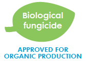 Biological fungicide for organic production logo
