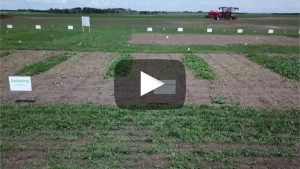 Nufarm's spring product video for pre-seed burndown